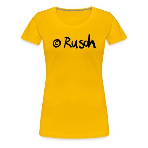 Copyright Rusch - Frauen Premium T-Shirt
