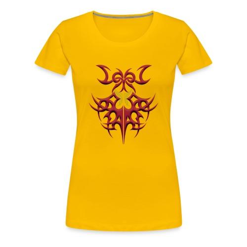 gelber Schmetterling - Frauen Premium T-Shirt