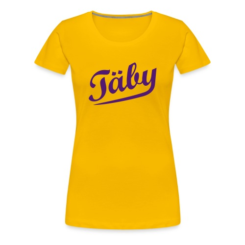 taby retro - Premium-T-shirt dam