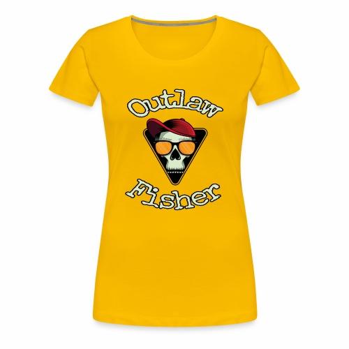 Outlaw Fisher - Frauen Premium T-Shirt