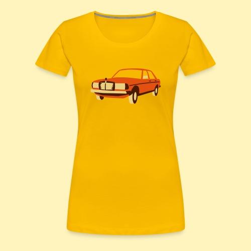 W123 Oldtimer - Frauen Premium T-Shirt