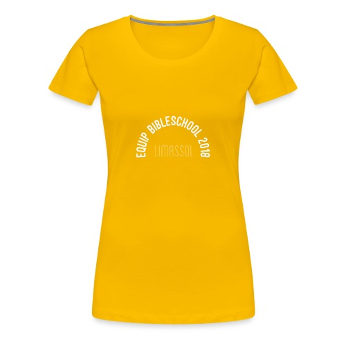 EQUIP BIBLESCHOOL WHITE - Premium-T-shirt dam