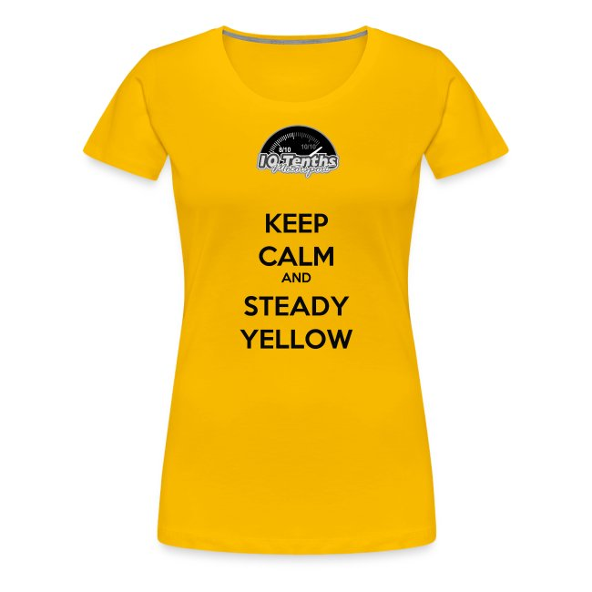 Keep Calm and Steady Yellow