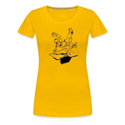 breaker part 1 ver0 1 - Dame premium T-shirt