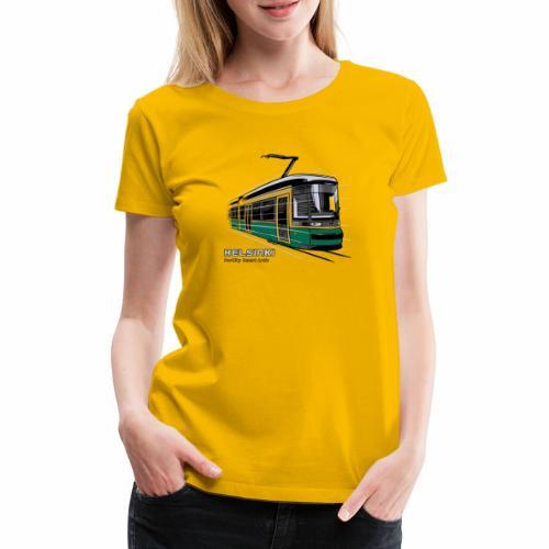 Helsingin Raitiovaunu T-paidat, 154 upeaa tuotetta - Naisten premium t-paita