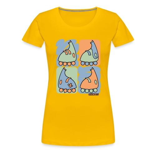 Patin Warhol - Camiseta premium mujer