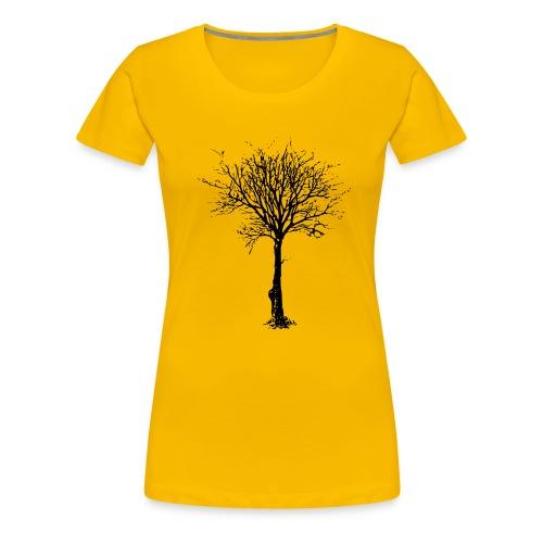 BareTree png - Camiseta premium mujer