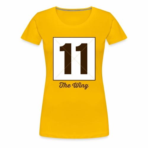 Wing11 Marplo - Maglietta Premium da donna