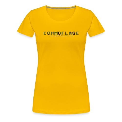 Commoflage t shirt logo camo png - Premium-T-shirt dam