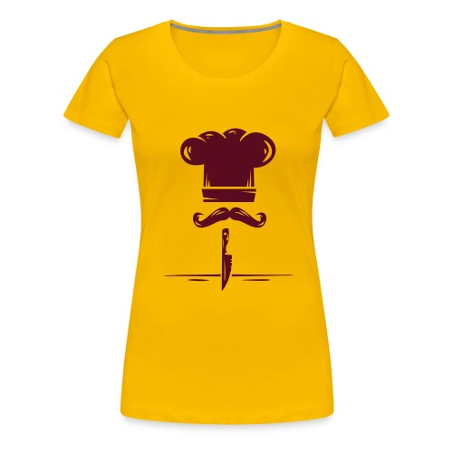 logo kitchen - Camiseta premium mujer