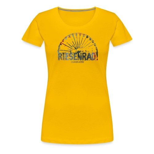 riesenradfinal - Frauen Premium T-Shirt