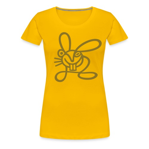 Strichhase - Frauen Premium T-Shirt