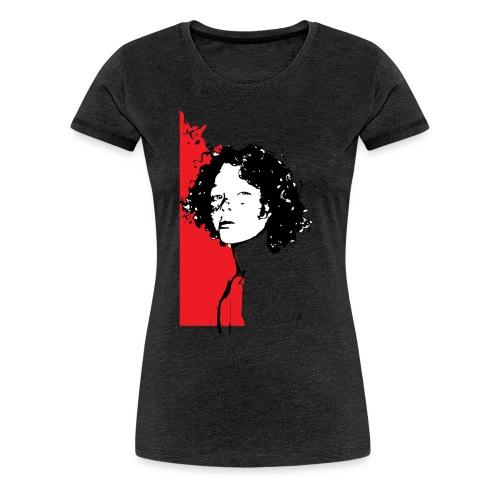 L'enfant rouge représente la terre rouge d'Afrique - T-shirt Premium Femme