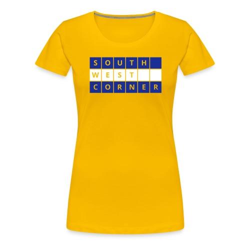 blocks - Women's Premium T-Shirt