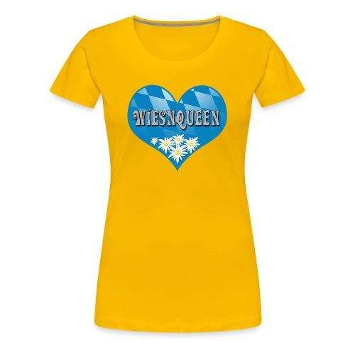 Wiesnqueen Oktoberfest - Frauen Premium T-Shirt