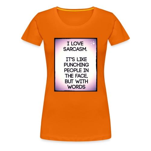 SARCASM - Vrouwen Premium T-shirt