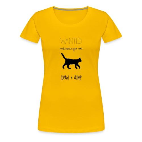Schrödinger cat - Camiseta premium mujer