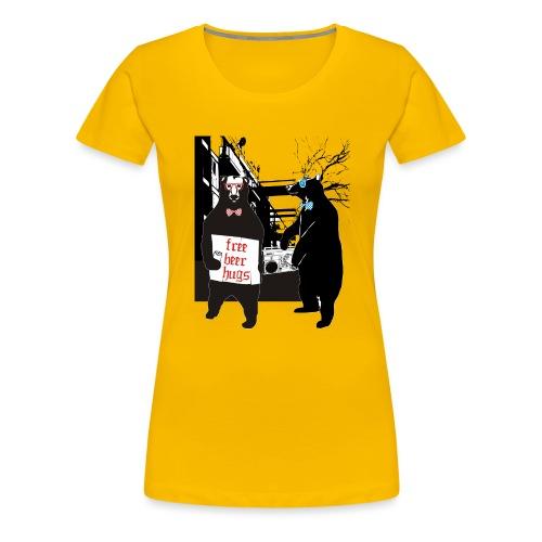 BEER BEARS - Naisten premium t-paita