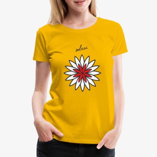 SOLRAC Central Red - Camiseta premium mujer