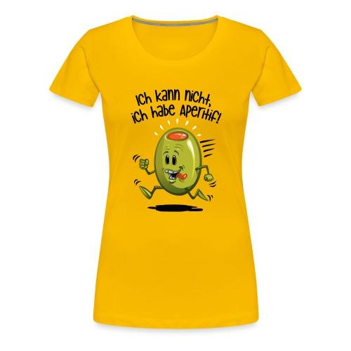 ick kann nicht - Frauen Premium T-Shirt
