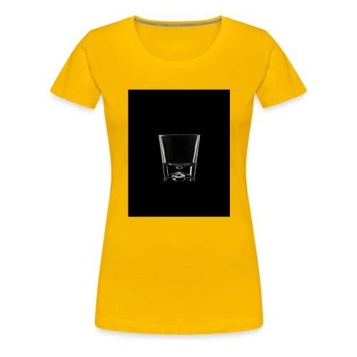 Whisky glass - Koszulka damska Premium