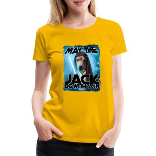 May the Jack be with you - Vrouwen Premium T-shirt