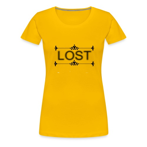 lost stree6 - Women's Premium T-Shirt