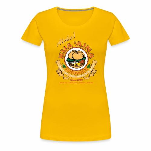 Kua 'Aina Classic - Women's Premium T-Shirt