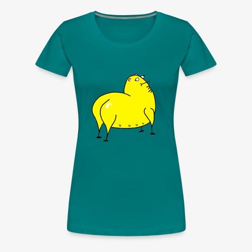 Grunk - Premium-T-shirt dam