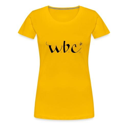wbc3 - Premium T-skjorte for kvinner