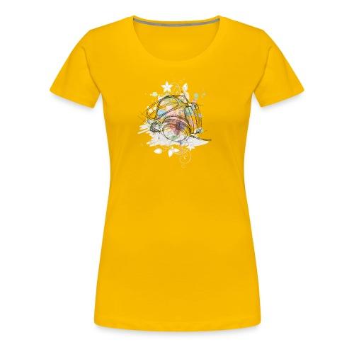 DJ Headphones - Frauen Premium T-Shirt