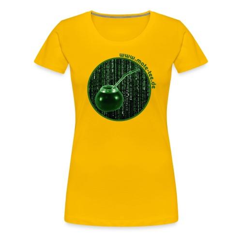 the materix md s - Frauen Premium T-Shirt
