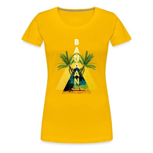 BANAAN 04 - Vrouwen Premium T-shirt