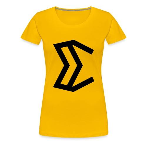 E - Women's Premium T-Shirt