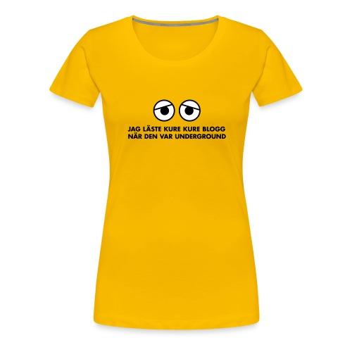 kure kure tshirt - Premium-T-shirt dam
