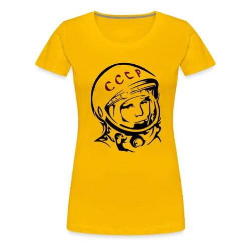 Juri Gagarin - Frauen Premium T-Shirt