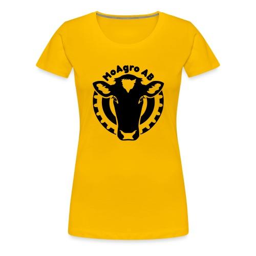 MoAgroABsvart - Premium-T-shirt dam
