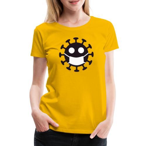 Corona Law - Dame premium T-shirt