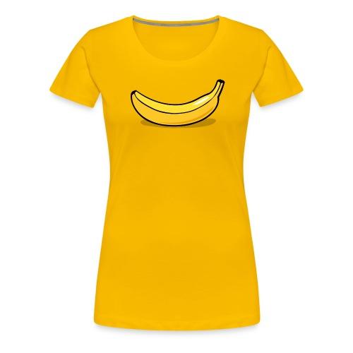 banaan smile - Vrouwen Premium T-shirt