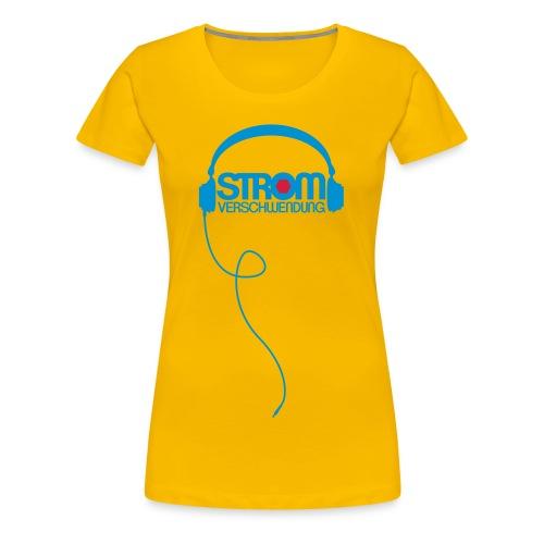 kopfhoerer2 - Frauen Premium T-Shirt