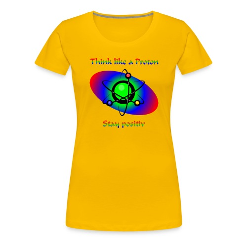 stayPositiv - Frauen Premium T-Shirt
