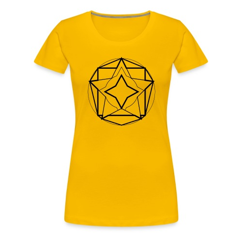 star - Camiseta premium mujer