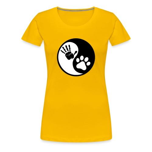 Yin Yang - T-shirt Premium Femme