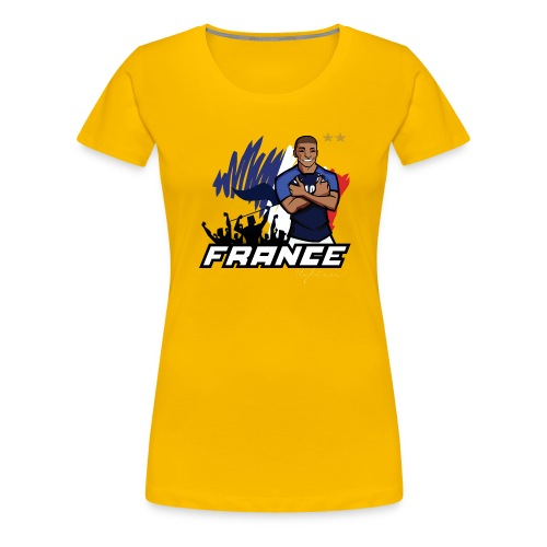tee shirt france mbappé - T-shirt Premium Femme