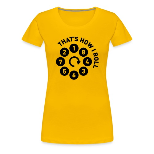 Rolling the V8 way - Autonaut.com - Women's Premium T-Shirt