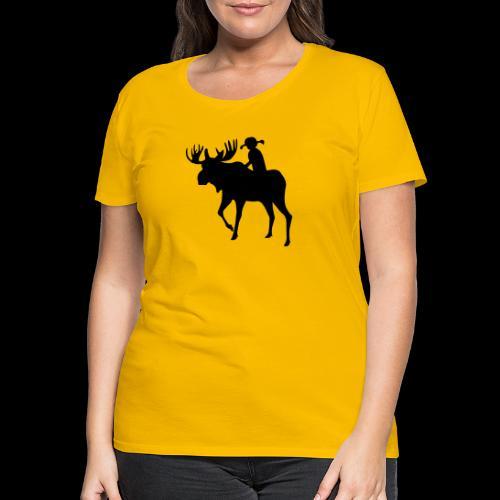 Mooserider TG Minwamon - Premium-T-shirt dam