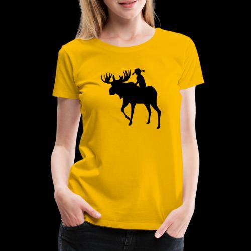 Mooserider Swedish Fika - Premium-T-shirt dam