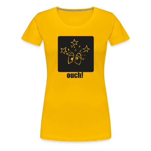 Ouch (Autsch) - Frauen Premium T-Shirt