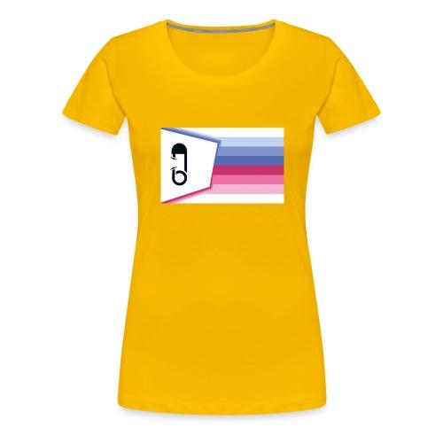 ABDL Knapp - Premium-T-shirt dam