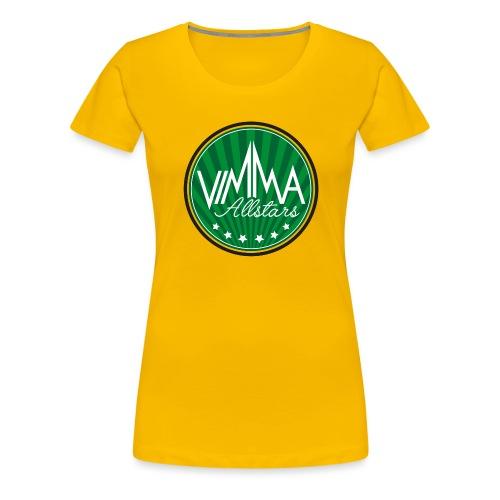 Vimma peruslogo - Naisten premium t-paita